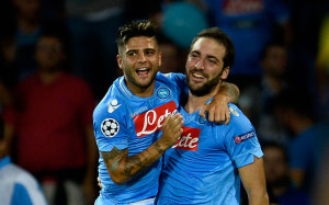 Gonzalo Higuain e Lorenzo Insigne, i gemelli Derrick del Napoli