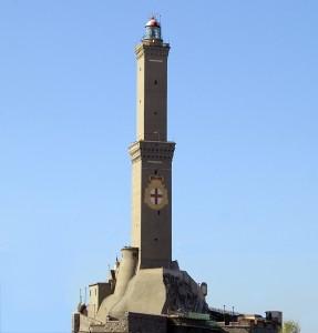 """La Lanterna di Genova, il monumento che ha """"prestato"""" il suo nome al Derby"""