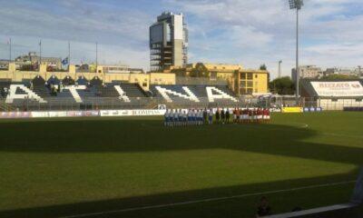 Lo stadio Francioni di Latina