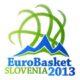 Il logo di eurobasket 2013