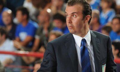 Simone Pianigiani, coach dell'Italia a Eurobasket 2013