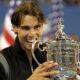 Rafael Nadal alla vittoria degli US Open