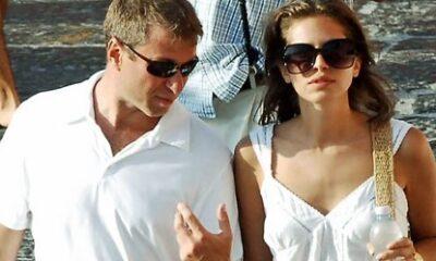 Roman Abrahamovic con la fidanzata