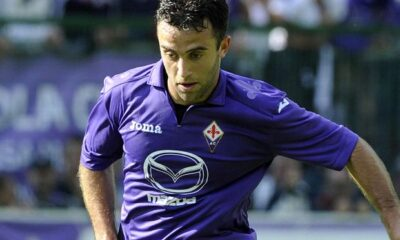 Pepito Rossi protagonista di MIlan-Fiorentina