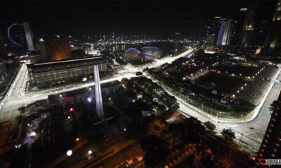 l fascino notturno del GP di Singapore di Formula 1