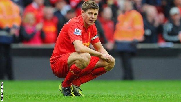 Steven Gerrard, capitano del Liverpool