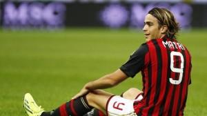Matri, ancora zero gol in maglia del Milan