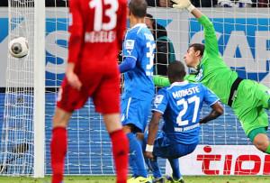 Hoffenheim- Bayer Leverkusen, il pallone incriminato