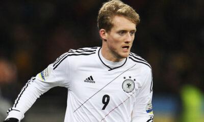 Andre Schurrle con la maglia della Germania