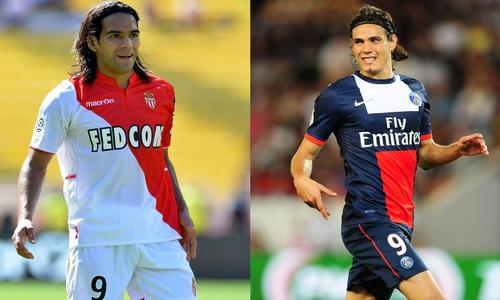 Falcao e Cavani, top players di Monaco e psg