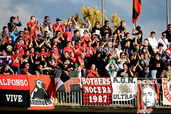 I tifosi della Nocerina