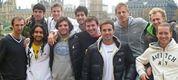 I giocatori che hanno partecipato al corso del'Atp University nel 2011: fila dietro (da sinistra a destra): Skugor, Pospisil, Weintraub, Siljestrom, Knittel; fila davanti (da sinistra a destra): Kravchuk, Shamasdin, Jaziri, Bubka, Brugués, Emmrich