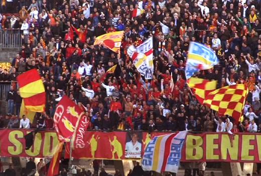 """La curva sud del Benevento, """"offesa"""" da Felice Evacuo"""