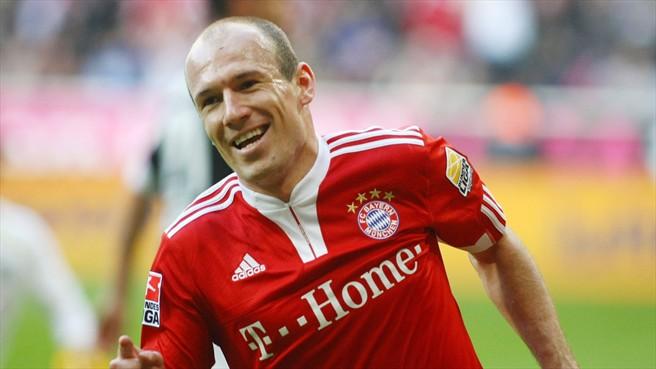 Arjen Robben, uno dei protagonisti della Bundesliga 2014