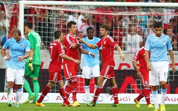 Manchester City- Bayern Monaco