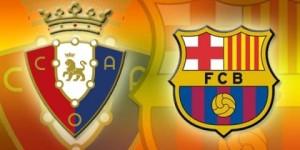 Osasuna-Barcelona finisce 0-0