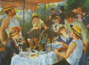 "Renoir: ""La colazione dei canottieri"", 1880-1882, Washington, The Phillips Collection"