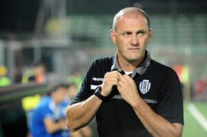 Pierpaolo Bisoli, allenatore del Cesena