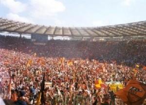 L'Olimpico in festa: è il giorno dello Scudetto 2001