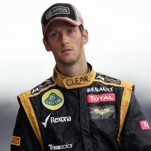 Romain Grosjean, pilota 2013 della Lotus