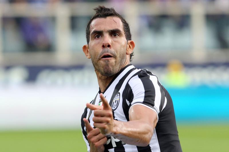 Juventus-Roma: Tevez ancora decisivo