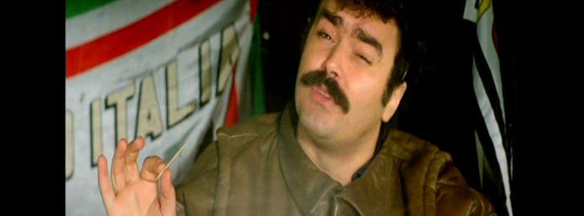 Tirzan-Diego Abatantuono nel film Eccezzziunale veramente (1982) di Carlo Vanzina