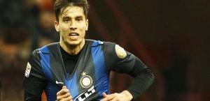 Ricky Alvarez con la maglia dell'Inter
