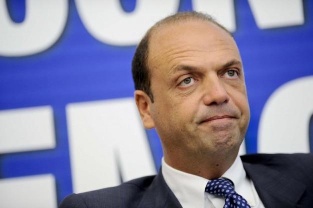 Il ministro dell'Interno Angelino Alfano.