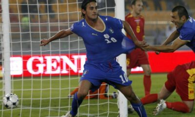 Aquilani ancora a segno con la maglia dell'Italia