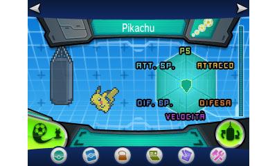Pokémon X/Y: una schermata di gioco