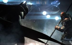 Batman faccia a faccia con Deathstroke