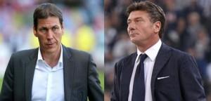 Rudi Garcia e Walter Mazzarri si affrontano per la prima volta in Serie A
