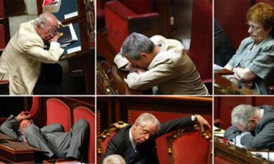 parlamentari dormono