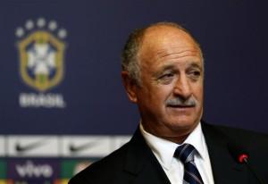 Felipe Scolari, allenatore del Brasile
