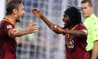 Gervinho e Totti protagonisti in Champions League.