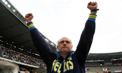 Andrea Mandorlini, tecnico dell'Hellas Verona