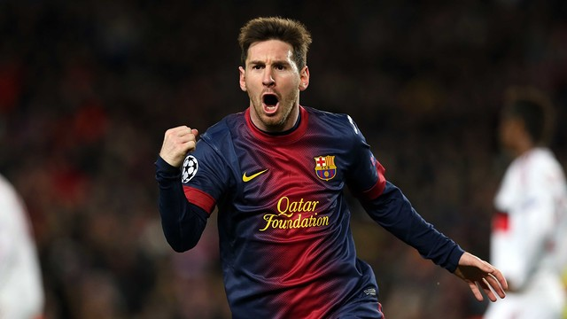Lionel Messi, attaccante Barcellona