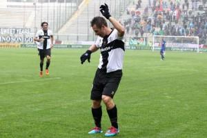 Cassano, protagonista nell'incontro vinto ai danni del Chievo