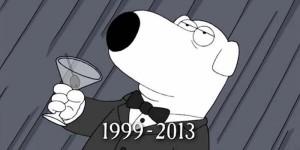 Brian, il famoso cane dei Griffin, è morto
