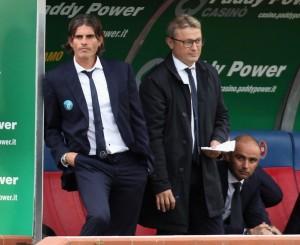 Diego Lopez e Ivo Pulga: col Cagliari portano un punto via da Roma