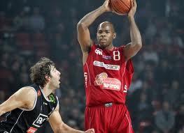 Basket Serie A Caleb Green, miglior realizzatore di giornata, in una foto d'archivio