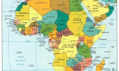 Carta politica dell'Africa