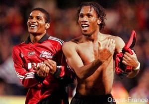 Florent Malouda e Didier Drogba: nati nel Guingamp, campioni di tutto