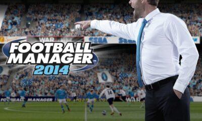La copertina di Football Manager 14