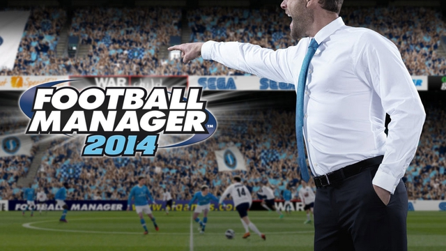 La copertina di Football Manager 14