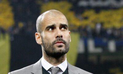 Pep Guardiola, allenatore del Bayern Monaco,, dominatore della Bundesliga