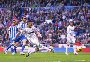 Karim Benzema siglò la rete dell'1-0 dello scorso gennaio.