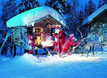 Lapponia Casa Di Babbo Natale Video.Viaggio Casa Babbo Natale