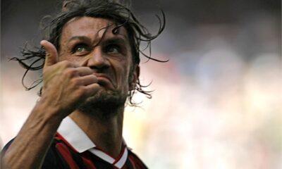 Paolo Maldini al suo addio al calcio venne fischiato da pochi tifosi