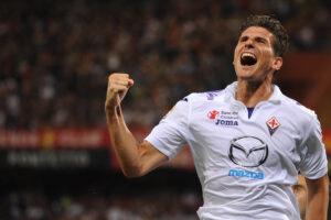 Mario Gomez, attaccante della Fiorentina